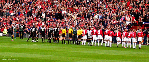 Manchester United v Real Madrid, Champions League Quarter Final 2003 (by Haris Abdul Rahman)