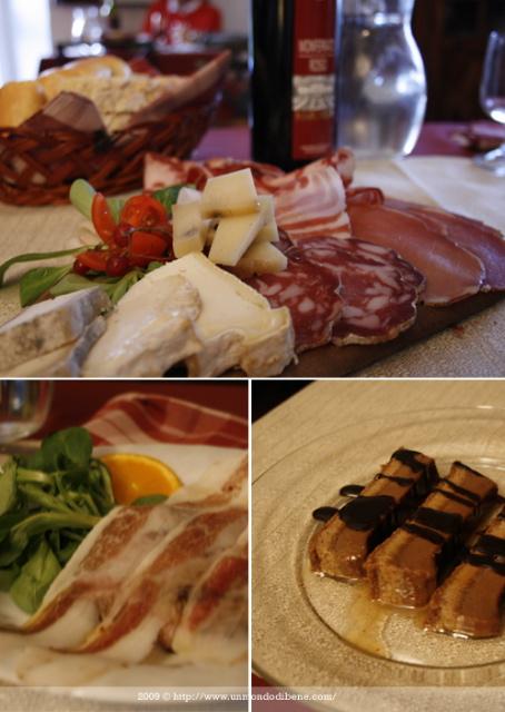 La cena a La Marchesa
