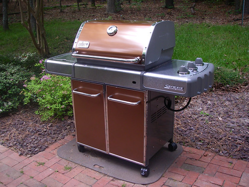 our new Weber grill!