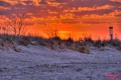 Sunscape Planet Earth! (a2roland) Tags: park county new blue red sky orange sun shells tower beach grass clouds landscape solar amusement sand ride earth nj magenta scene norman planet jersey monmouth moonlight rides lunar solaris kiddie zeb keansburg sunscape a2roland a2rolandyahoocom