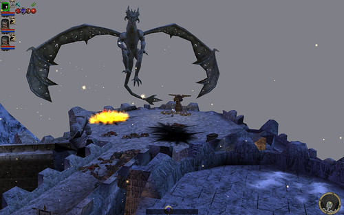 Talon (on battlements) 06