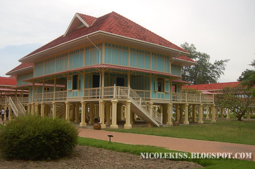 wooden summer palace