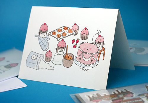 Cakespy Notecards