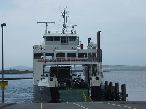 Sound of Harris ferry MV Loch Portain at Leverburgh