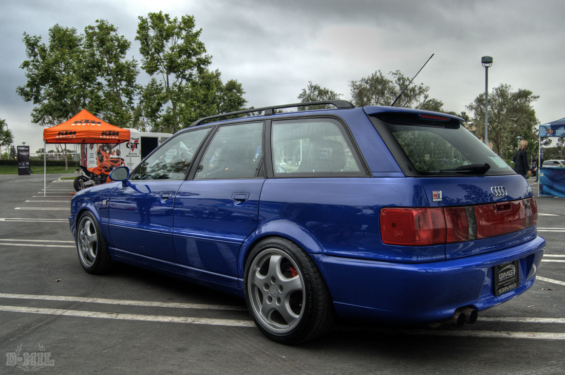 Audi Rs2 The Targa Trophy Event