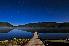 A Moonlit Walk into the Stars (Fort Photo) Tags: blue sky lake mountains reflection water night oregon stars landscape star mirror pier vanishingpoint nikon nightscape nps or east moonlit astrophotography moonlight astronomy geology volcanic 2009 afterdark d300 newberry 1735 catchycolorsblue impressedbeauty superaplus aplusphoto newberrycraternationalvolcanicmonument natureselegantshots Astrometrydotnet:status=failed Astrometrydotnet:id=alpha20090680146632