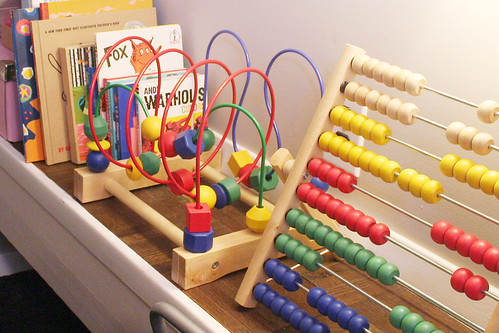 Toys in Eleanor's Nursery