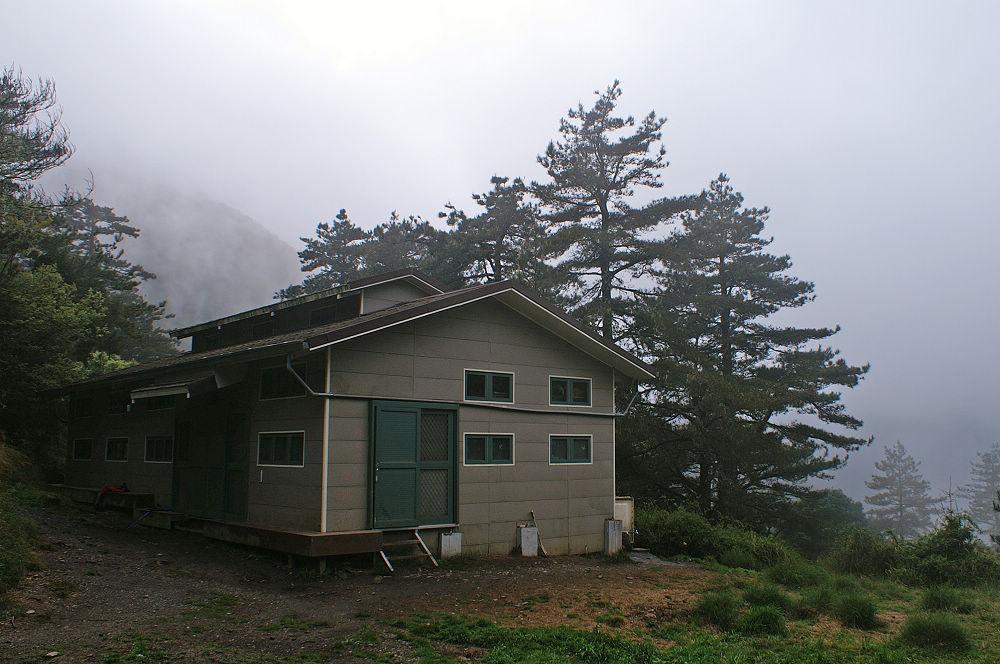 南湖大山day5-02 雲稜山屋