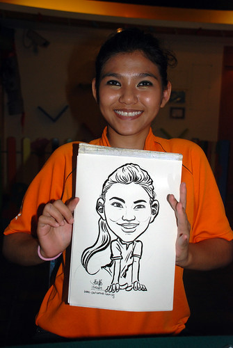 Caricature live sketching for Costa Sands Resort Day 3 - 11