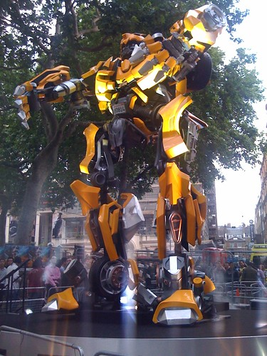 Transformers 2 Londres Bumblebee