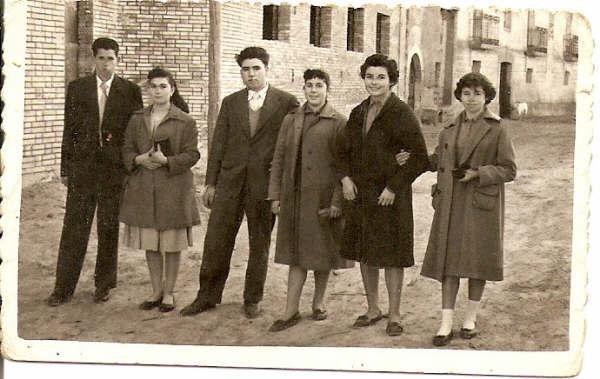 fiestas 1957 - fotos de Valero Aso
