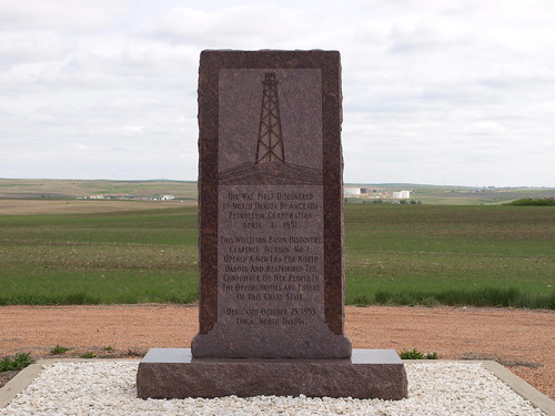 Site of 1st ND Oil Well