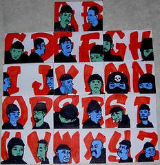henchmen's alphabet (andres musta) Tags: andres musta stickers slaps sticker sketch drawing henchmen alphabet font stickerart art zas zombie squad zombieartsquad adhesive andresmusta