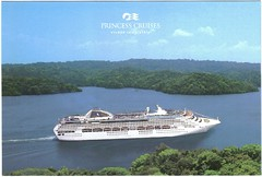 Dawn Princess Postcard