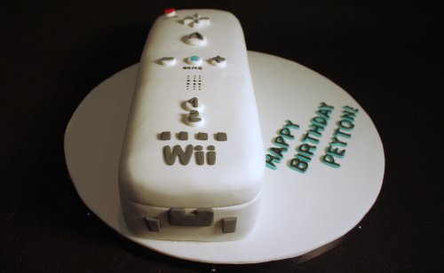 Happy Birthday, Peyton!! Nintendo Wii Remote Birthday Cake