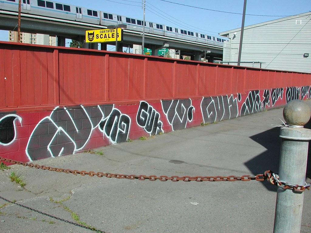 GUN, FTL, TKO, Graffiti, Street Art, Oakland