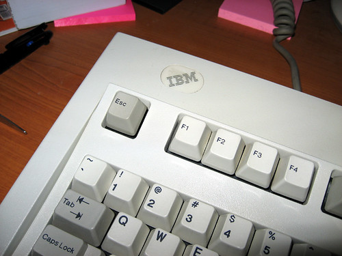IBM Clicky Keyboard, Circa 1987