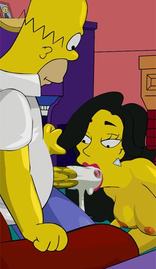 Los Simpsons Porno
