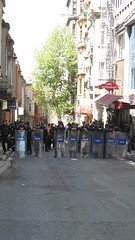 Security for May Day Protest Istanbul