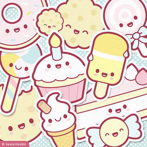 Cute Sweets Collage