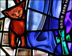 Julian of Norwich's cat (Simon_K) Tags: pet church cat feline norfolk pussy mother cell norwich wife hermitage dame eliot hermit mystic eastanglia contemplation mysticism revelations stjulian divinelove anchorite anchoress fourquartets anchoresse anchresse ancresse
