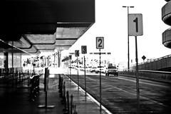 98765  4  3    2           1 (Bean*) Tags: las vegas bw 50mm airport pickup taxis passenger numbered mccarren funkitupfriday