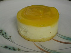 Baby Passion Fruit Cheesecakes