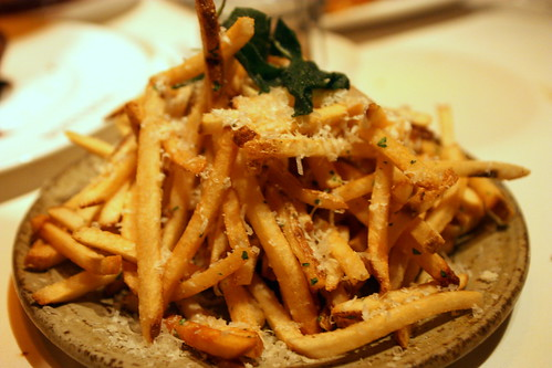 truffle-parmiggiano fries