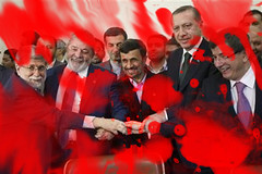Mahmoud Ahmadinejad and the Blood-Red Liars Pact