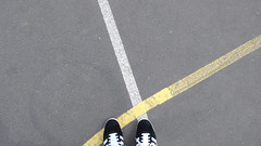 (.philippe.) Tags: feet lines grenoble lumix ps adidas pieds lignes 2010 lx2