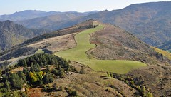 Terrain de golf naturel dans les Cévennes : on the green !