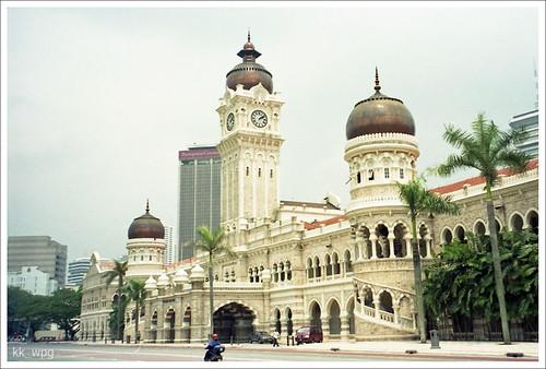 SULTAN ABDU SAMAD Building, Kuala Lumpur Law Court, Kuala Lumpur, Malaysia