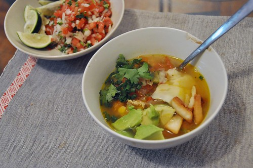 Tortilla Soup & salsa