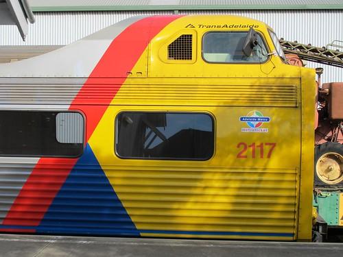 p1082364 - NRM - Railcar Weekend - Trans-Adelaide Jumbo railcar 2117