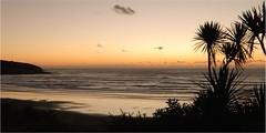 Into The West (Catching Magic) Tags: ocean sunset newzealand beach nikon tiraudan raglan tasmansea catchingmagic