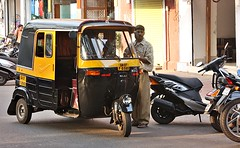 Want A Ride? (aprna) Tags: people india goa autorickshaw panaji municipalgardens 2010yip