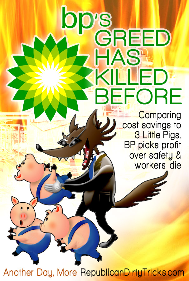 BP's History of Gambling with Lives for Sake of Profit