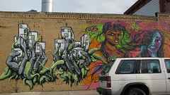 (C-Monster) Tags: nyc streetart graffiti unity queens astoria toofly adhocart wellingcourtmuralproject