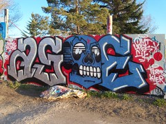 Asoer (Usually Punching Suckers) Tags: wall graffiti slugs terms cik kier omt upsk asoe zemek