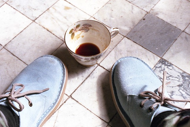 lovely mug + lovely shoes
