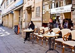 Happy Hours (Hanjosan) Tags: street girls woman café girl happy nikon candid litter hardcore hours bins hlb d90 hclb