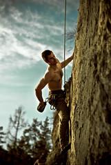 Have a break... (c_c_clason) Tags: leica zeiss 50mm austria climbing m8 rockclimbing 550 sonnar carlzeiss leoben sonnarc csonnart1