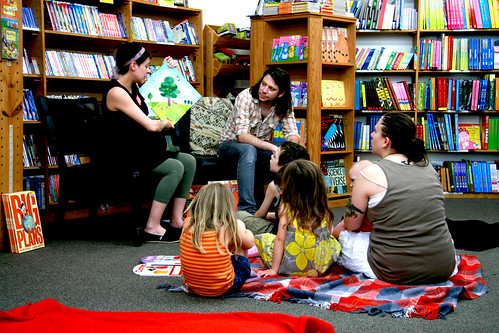 Story Time at Half Price Books