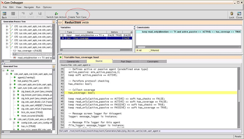 """IntelliGen's"" Generation Debugger Screenshot"