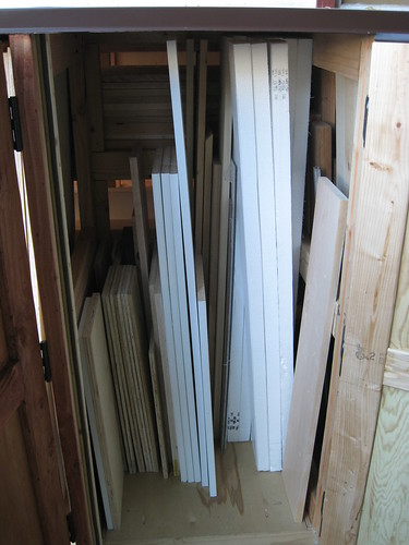 2nd stall with small boards