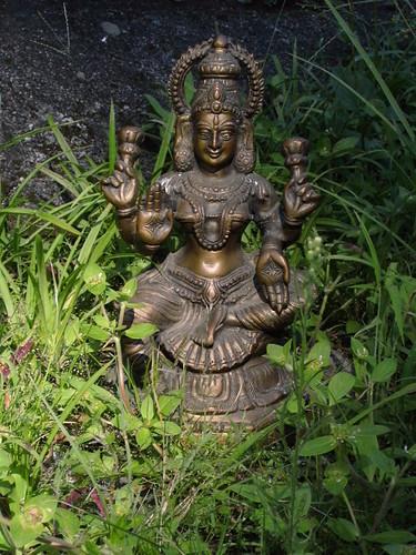 Lashmi, deusa da beleza, do amor e da prosperidade