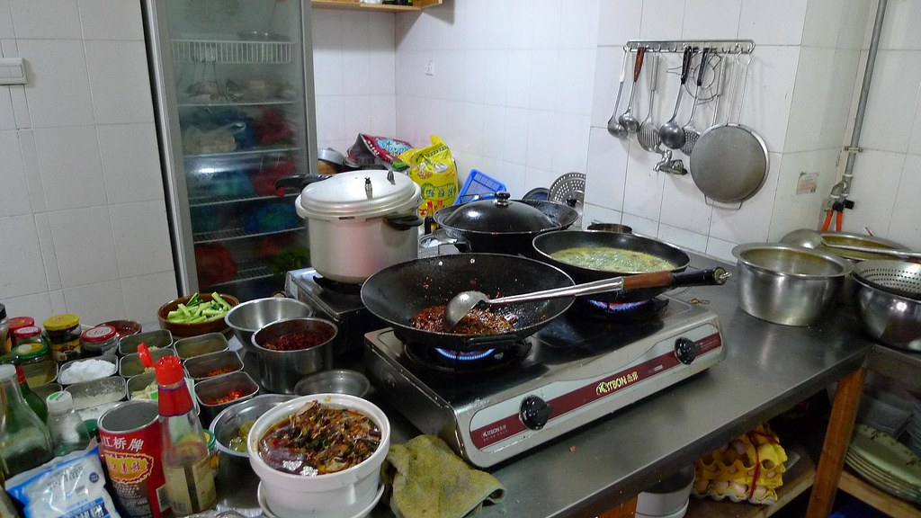 Chinese Restaurant Kitchen