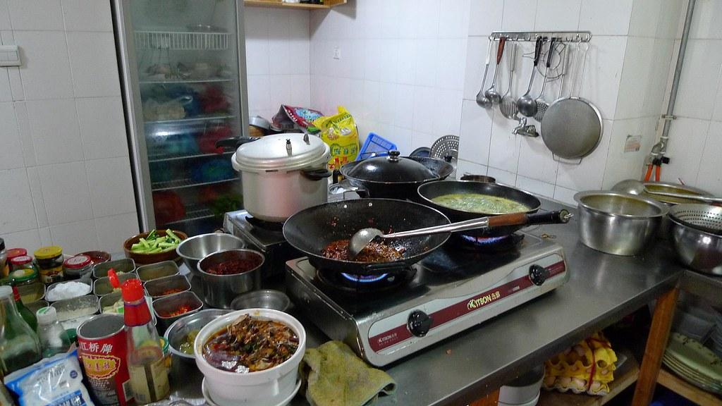 Charmant Chinese Restaurant Kitchen