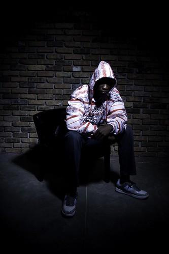 Studio Portraits - Man In Hoodie