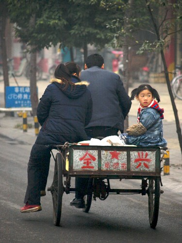 Chinese Family Trike